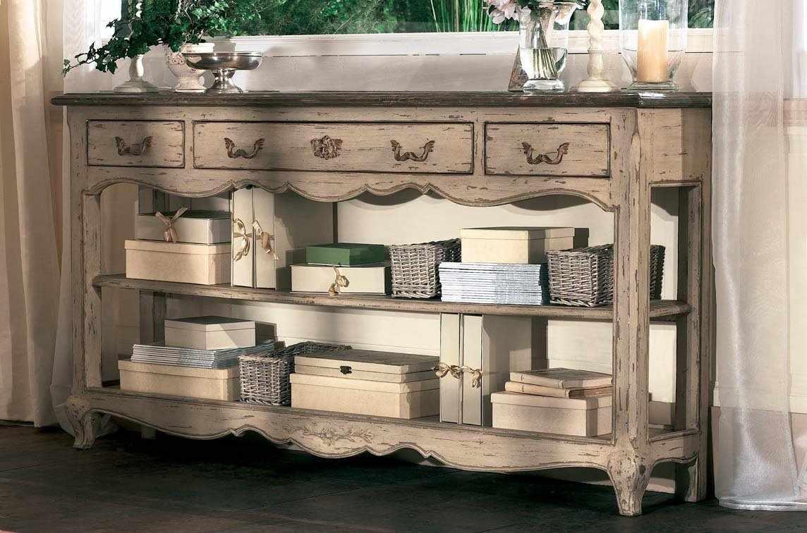 Декор мебели в стиле прованс