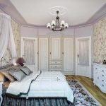 Современный декор спальни в стиле прованс