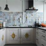 Кухонная мебель в винтажном стиле
