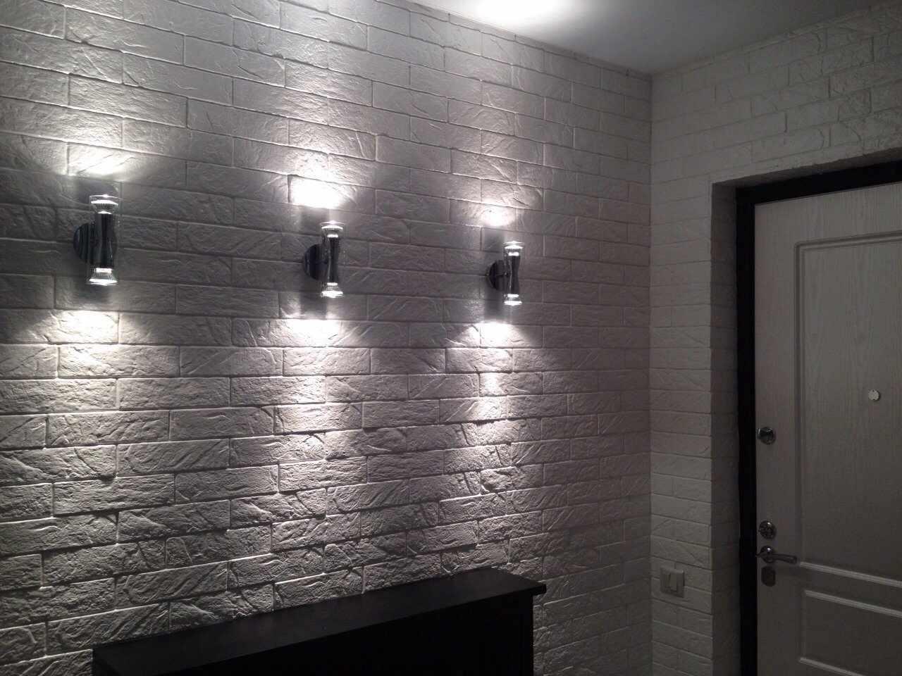Дизайн стены в ванной