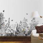 Бабочки и трава