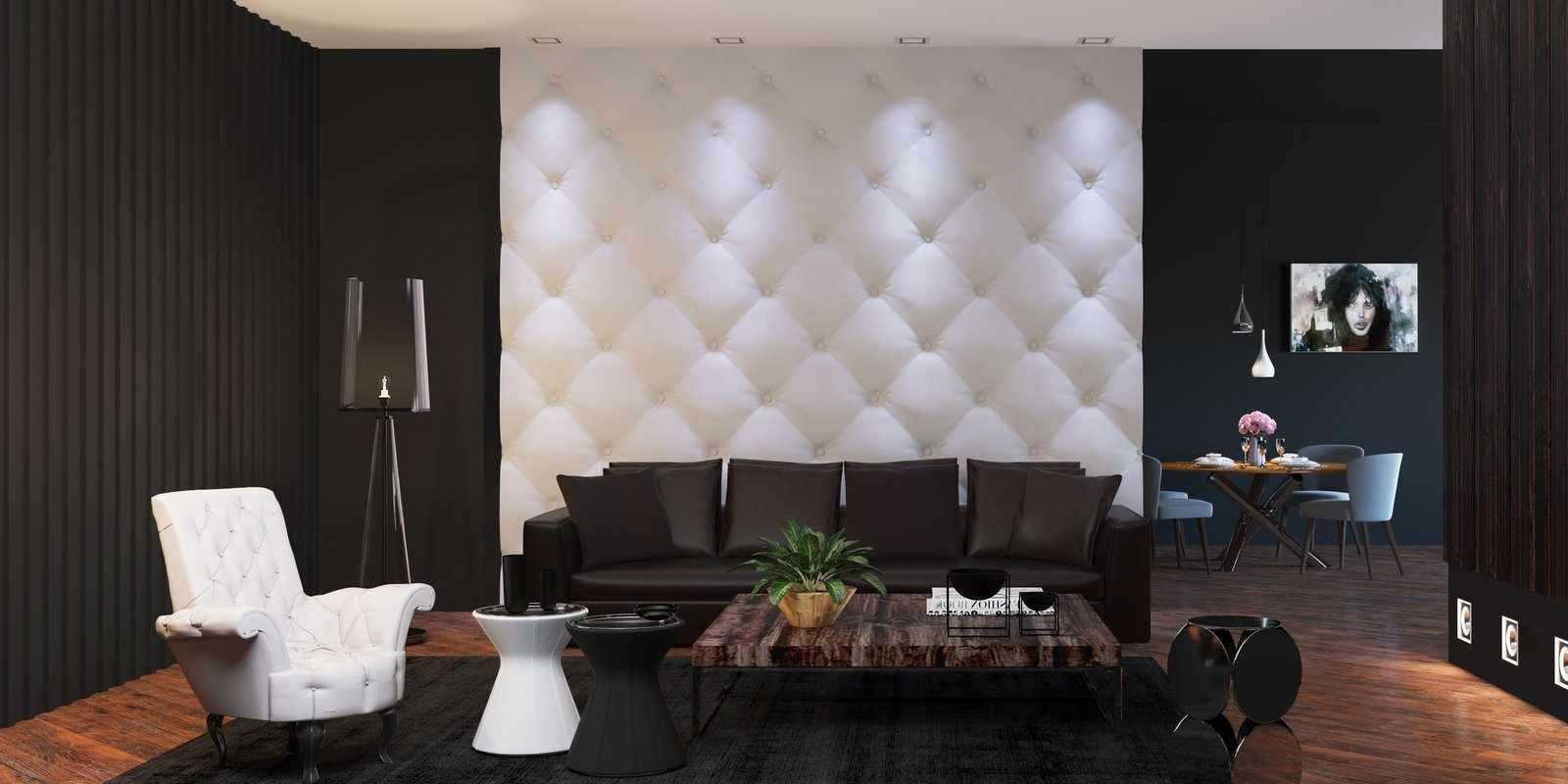 Встроенные светильники в стене