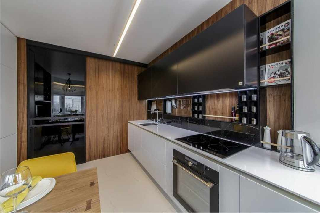 Панели на кухне