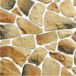 Камни разной формы на плитке