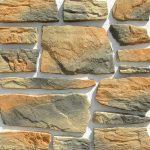 Камни разных оттенков на плитке