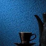 Синяя декоративная штукатурка