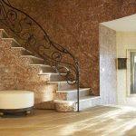 Шикарный интерьер с декоративной штукатуркой