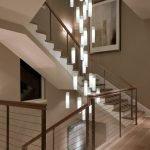 Люстра для лестницы