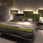 Светодиодная лента за кроватью