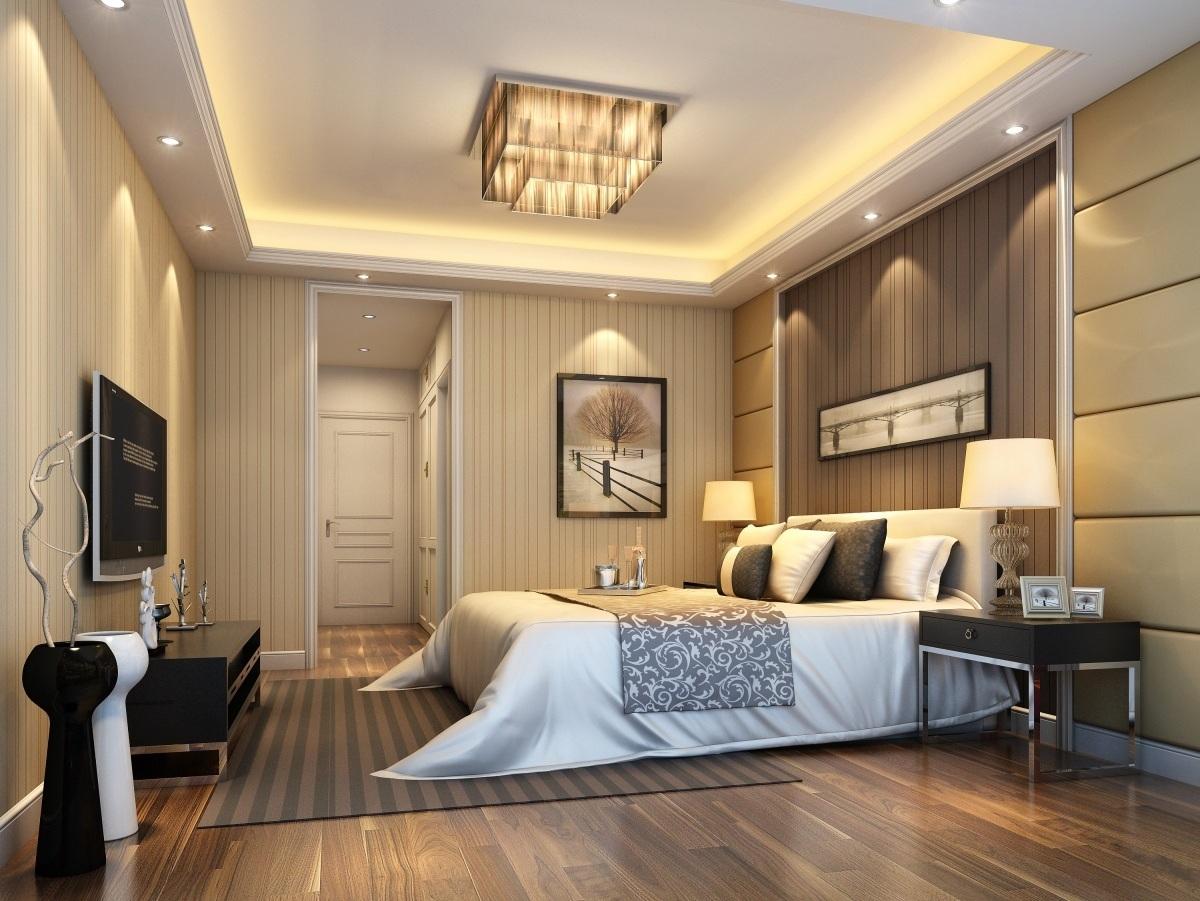Точечное освещение комнаты