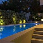 Подсветка вокруг бассейна
