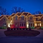 освещение на праздники