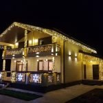 Праздничное освещение дома