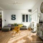 Креативное оформление гостиной