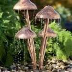 Фонтанчики в виде грибочков