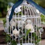 Декор с лентами и розами