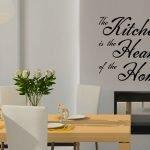 Надпись на стене в столовой