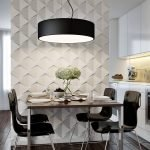Кухня с декоративными панелями