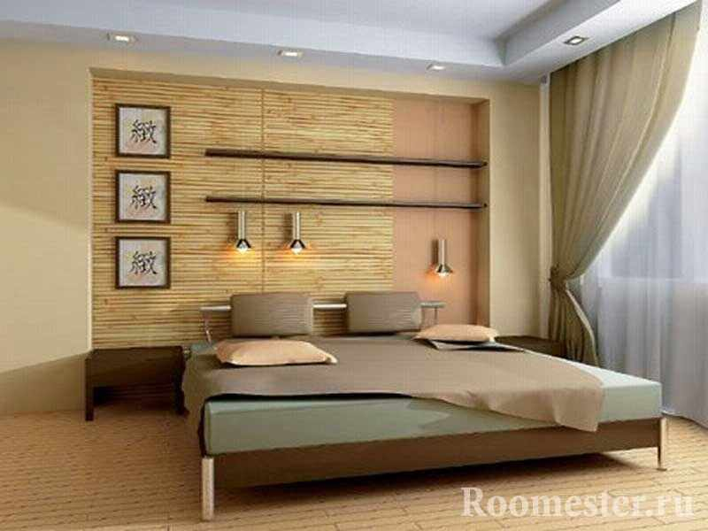 Бамбуковые панели в эко-стиле