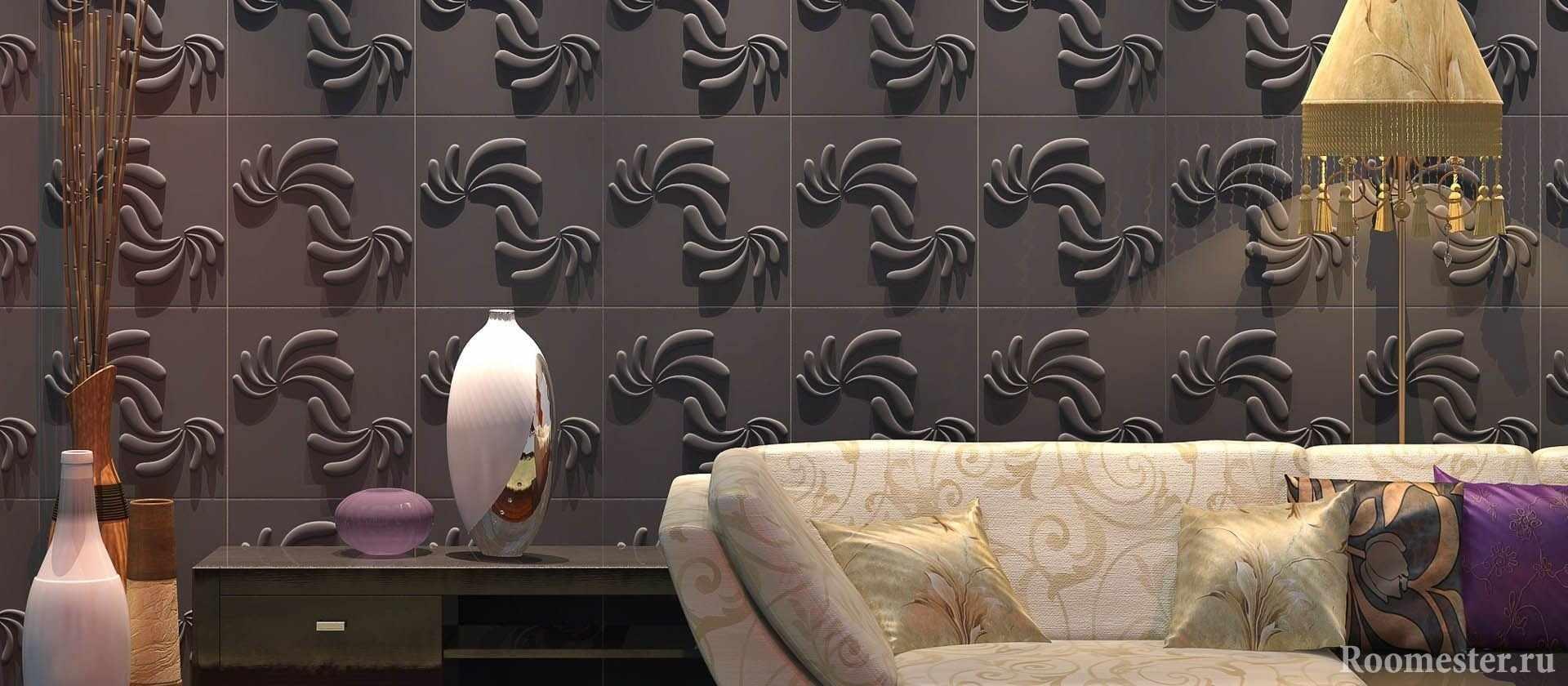 Декоративная плиточная панель для стен