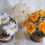 Шары с цветами