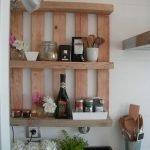 Полки и деревянного ящика