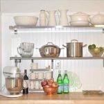 Металлические полки для посуды