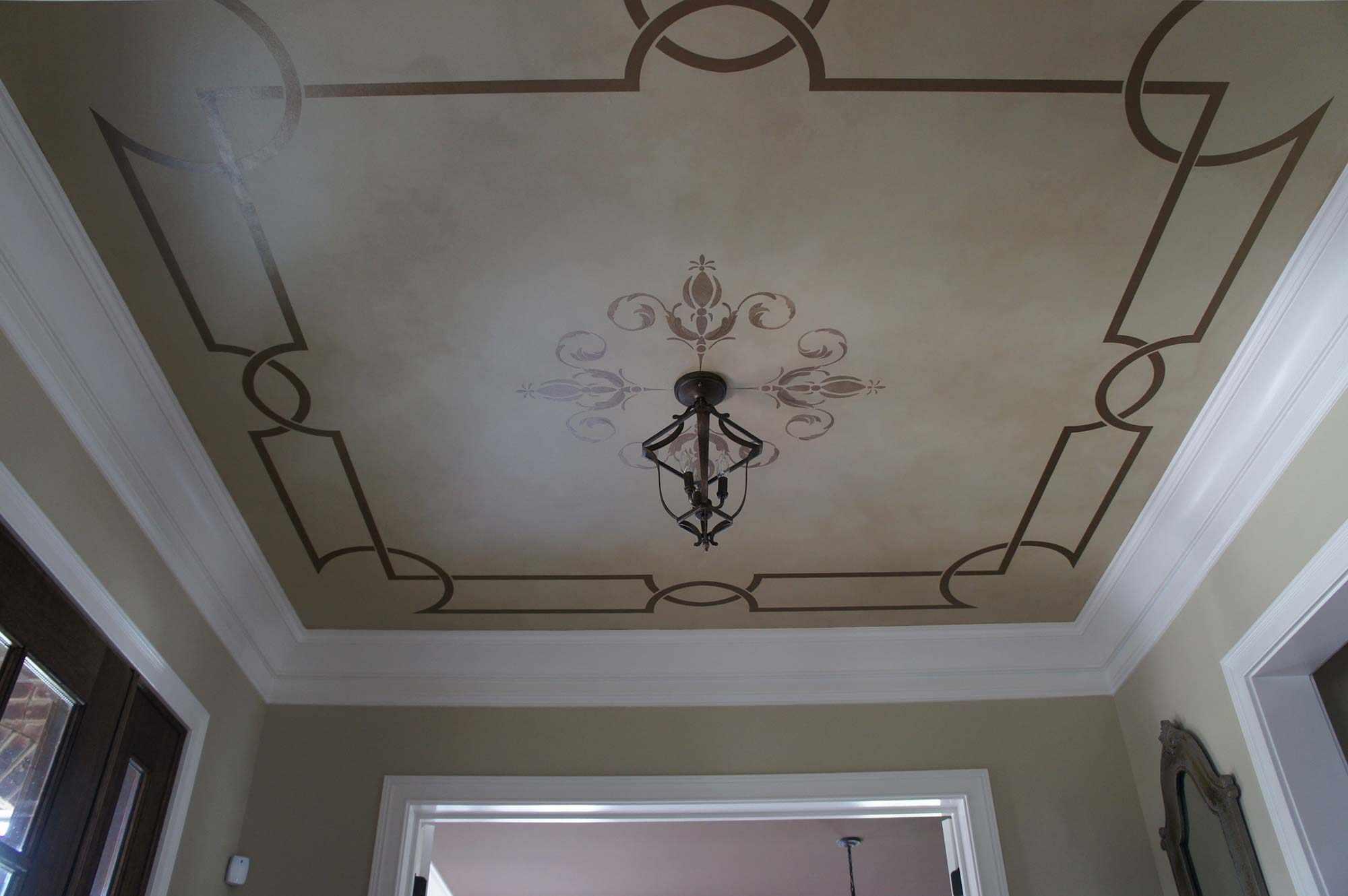Декор росписью