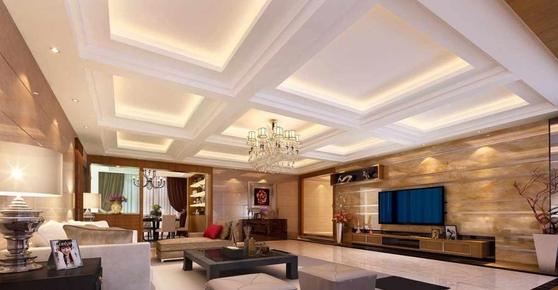 Многоуровневая подсветка потолка