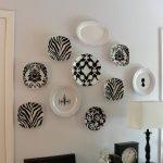 Стильные декоративные тарелки