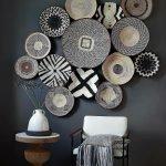 Черно-белые элементы декора