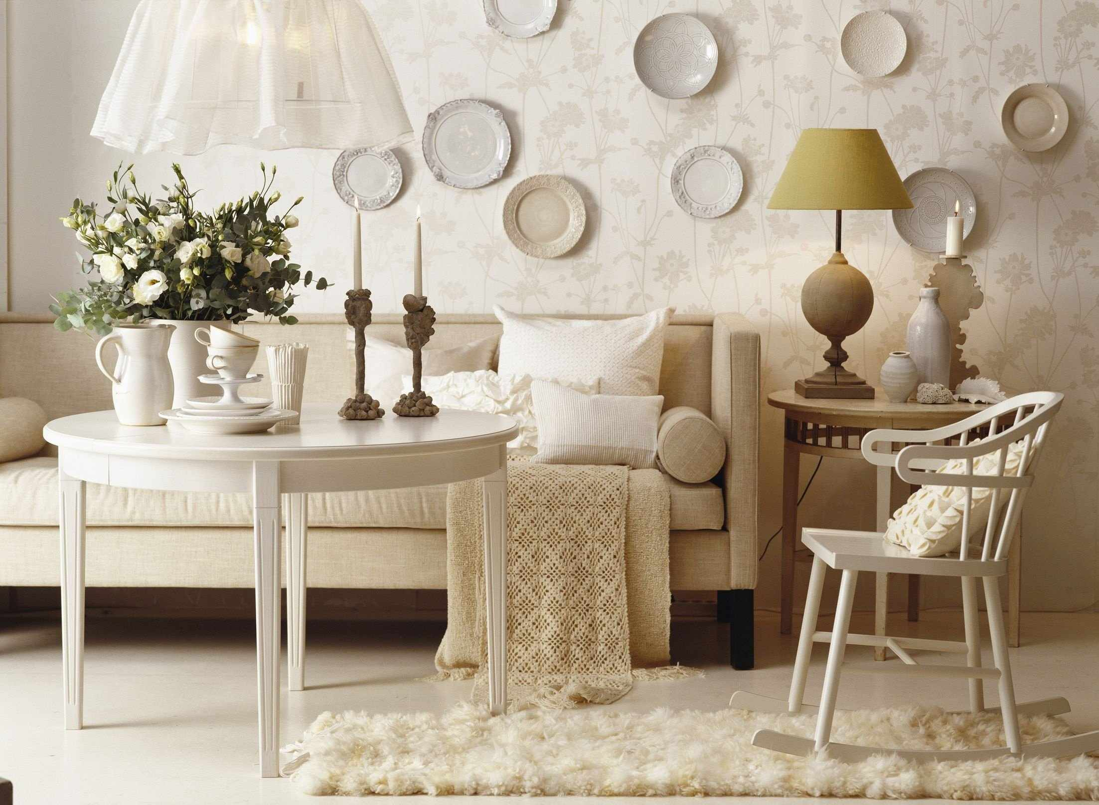 Тарелки для декора стены
