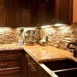 Подсветка на кухонных шкафах