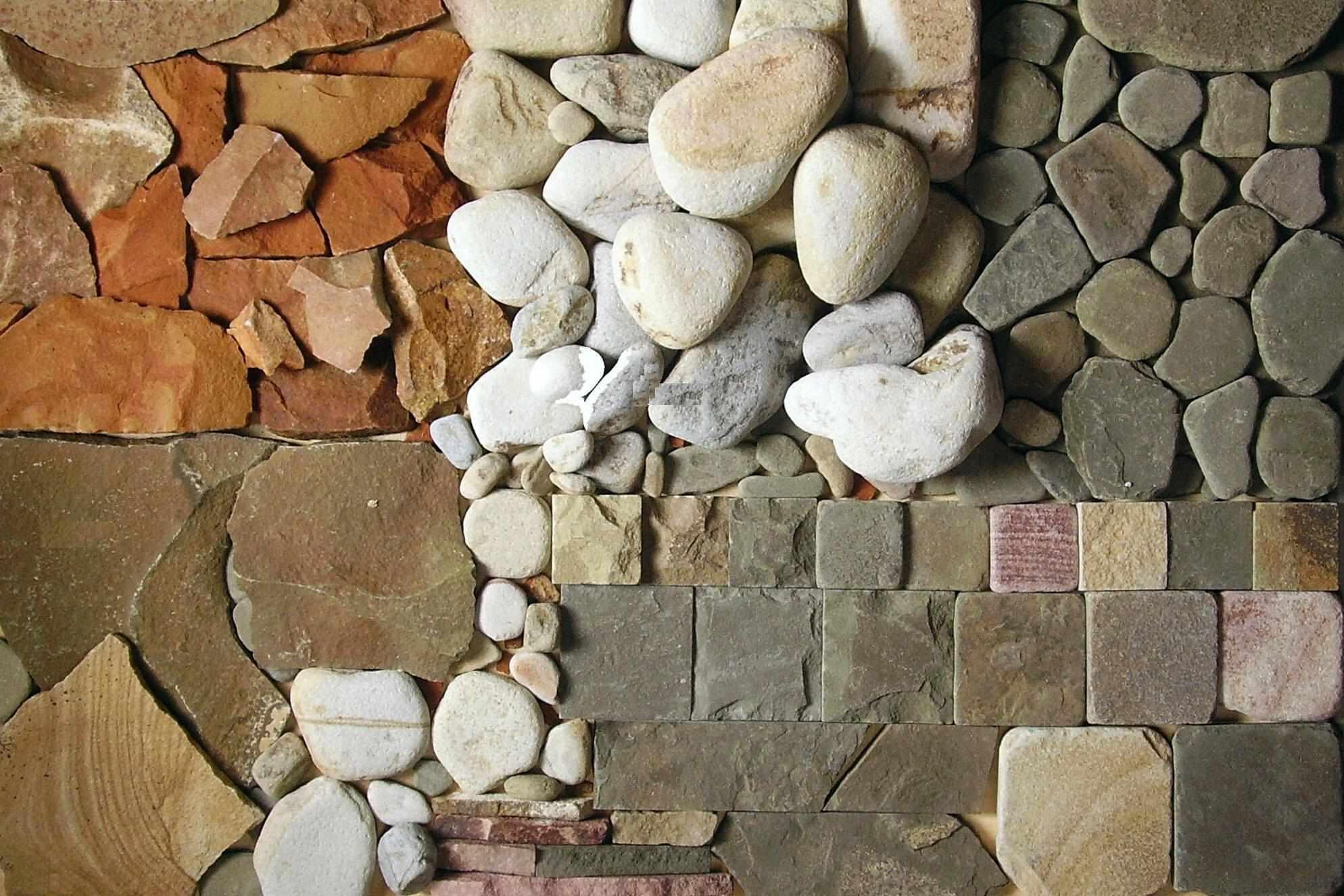 Виды камня для отделки стен
