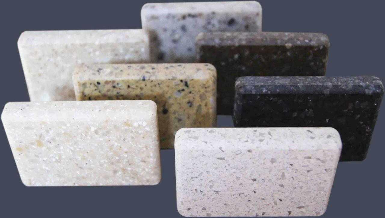 Литой акриловый камень