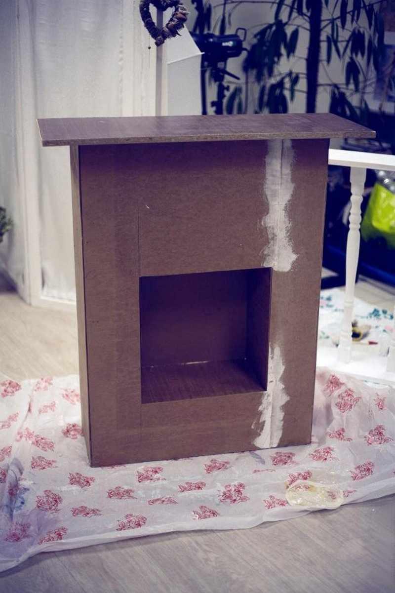 Коробка и ламинат