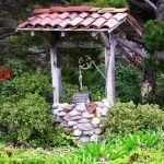 Декор для сада из подручных материалов