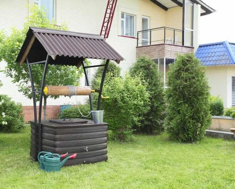 Стильный элемент декора для сада