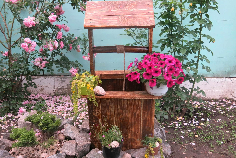 Колодец для украшения сада