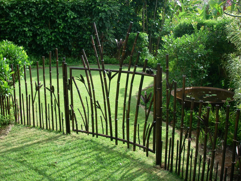 Дизайнерский металлический забор