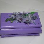 Фиолетовая шкатулка