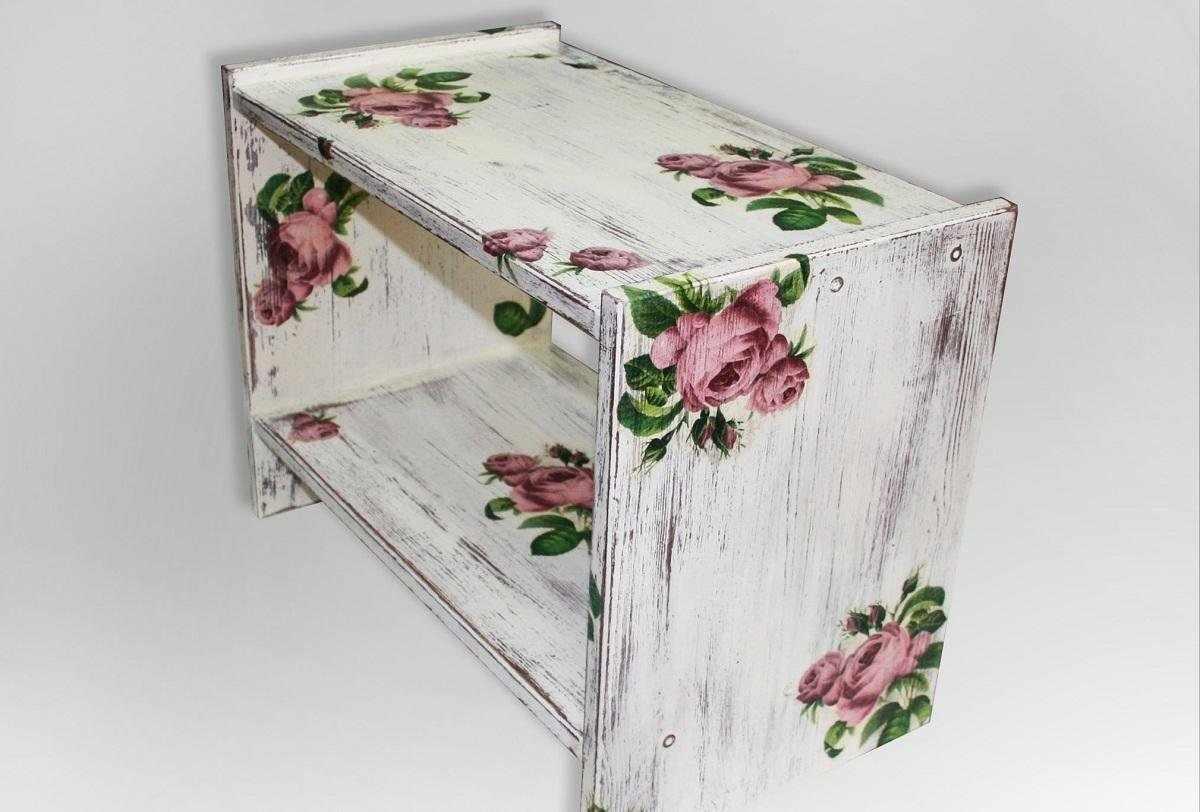 Мебель в технике декупаж