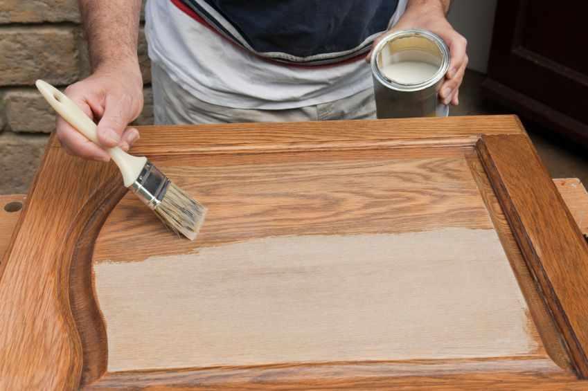 Подготовка поверхности мебели