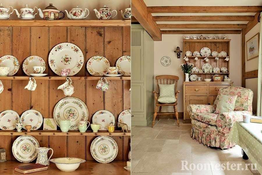Посуда для деревенского стиля