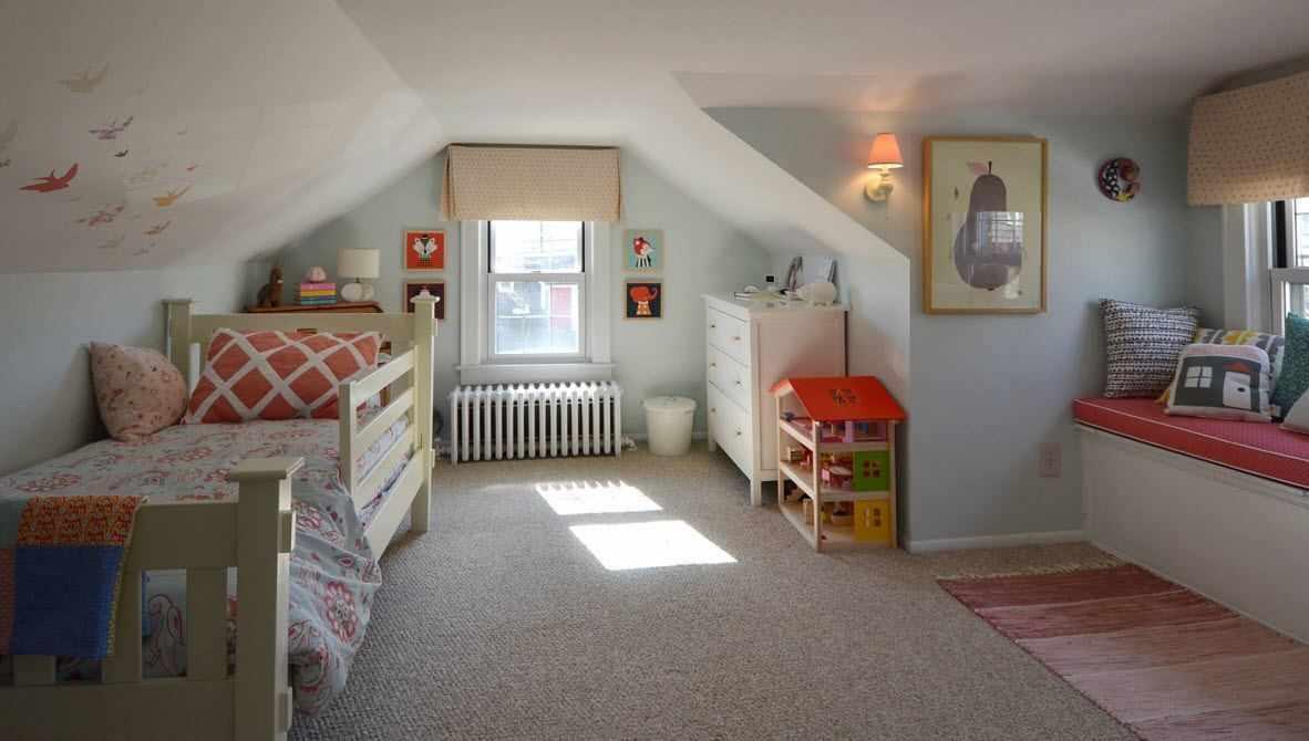 Уютная детская комната
