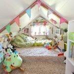 Невысокие потолки в детской
