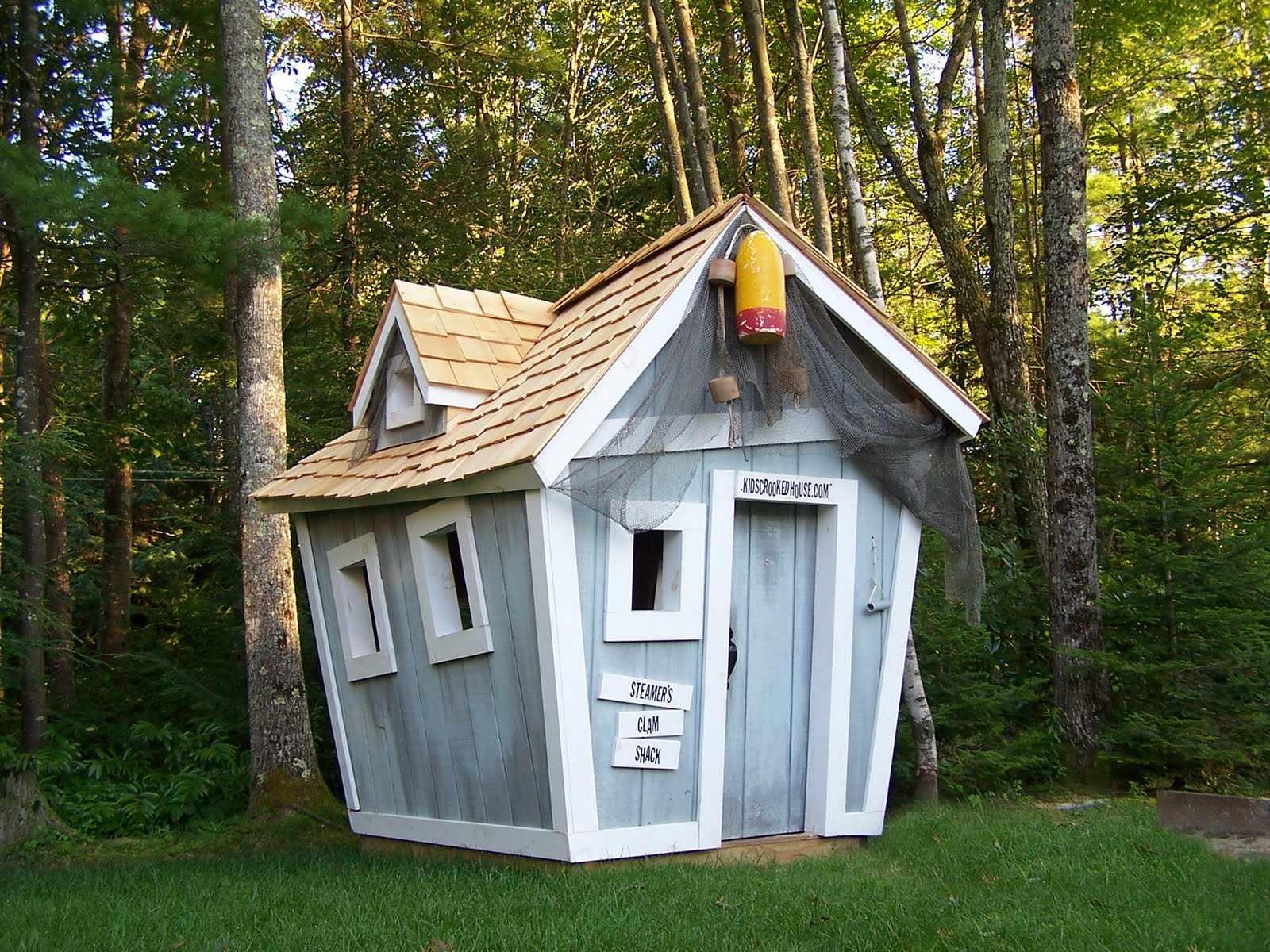 Детский домик для дачи своими руками