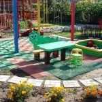Стандартные размеры площадок для дошкольников