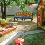 Игровая площадка для детей своими руками