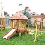 Комбинированная детская площадка
